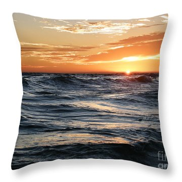 Throw Pillow featuring the photograph Deep Calls To Deep by Shevon Johnson