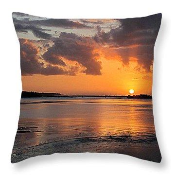 Sundown Splendor Throw Pillow