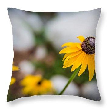 Sunflower Standout Throw Pillow