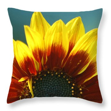 Throw Pillow featuring the photograph Sunflower by Tam Ryan