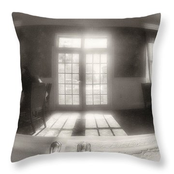 Sunlight Throw Pillow by J Riley Johnson