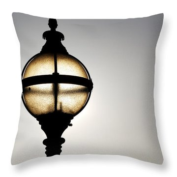 Sunlight Throw Pillow by Wendy Wilton