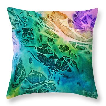 Sunlit Waves Throw Pillow