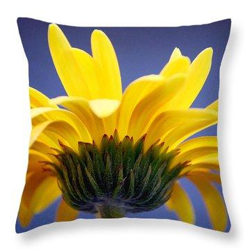 Sunny Love Throw Pillow by Melanie Moraga