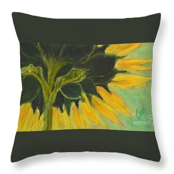 Sunny Side Up Throw Pillow by Cori Solomon