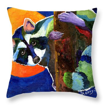 Sunny Side Up Throw Pillow by Sherry Shipley