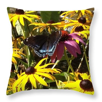 Sunny Spot Throw Pillow