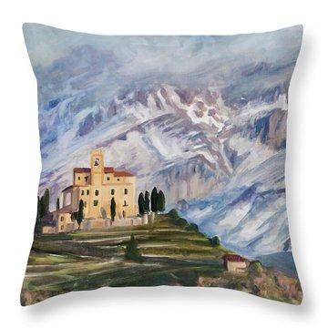Sunray Throw Pillow by Marco Busoni