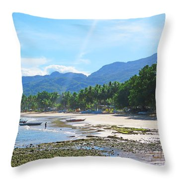 Sunray Philippino Throw Pillow