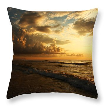 Sunrise - Rich Beauty Throw Pillow