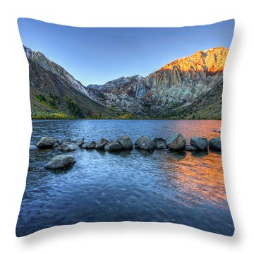Sunrise At Convict Lake Throw Pillow