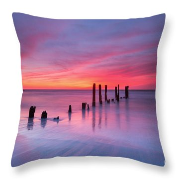 Sunrise At Deal Nj Throw Pillow