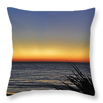Sunrise At Folly Throw Pillow