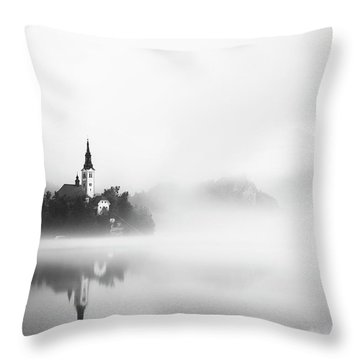 Hazy Throw Pillows