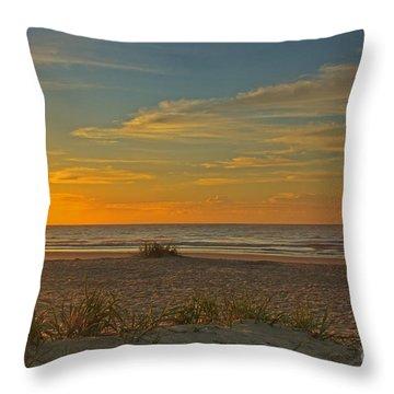 Sunrise At Pawleys Island I Throw Pillow