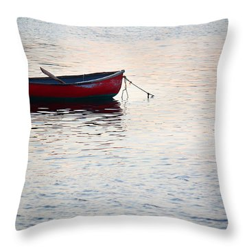Sunrise At Sakonnet Point Part II Throw Pillow by Andrew Pacheco