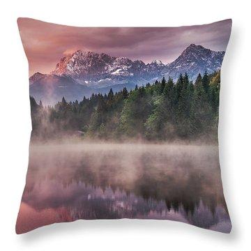 Alps Throw Pillows