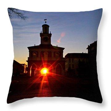 Historic 2 Throw Pillow