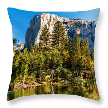 Sunrise At Yosemite Throw Pillow