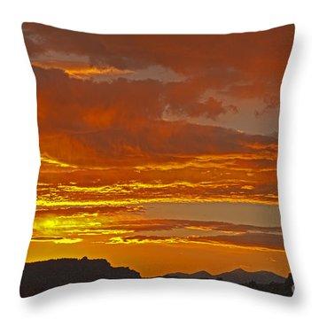 Sunrise Capitol Reef National Park Throw Pillow