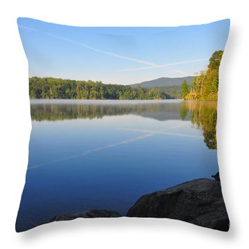 Sunrise Cross Throw Pillow