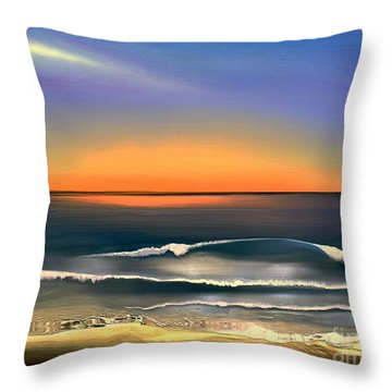 Sunrise Throw Pillow by Dale   Ford