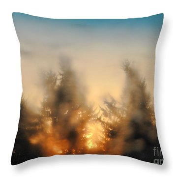 Sunrise Dream Throw Pillow