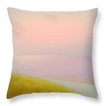 Sunrise Dune Throw Pillow by Michelle Calkins