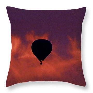 Sunrise Flight Throw Pillow by Mistys DesertSerenity