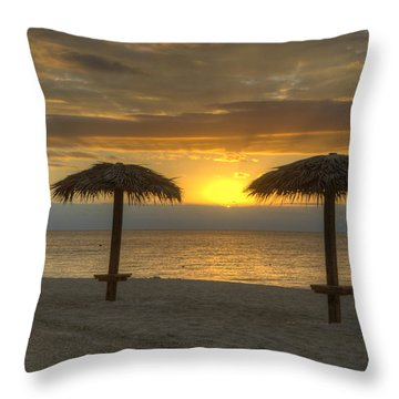Sunrise Glory Throw Pillow