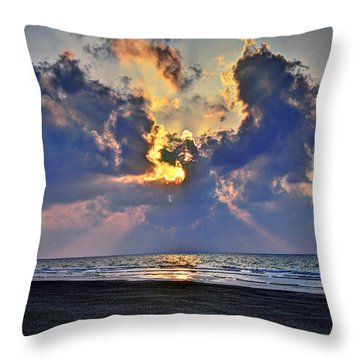 Sunrise... Hilton Head Island Throw Pillow
