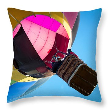 Sunrise Launch Throw Pillow