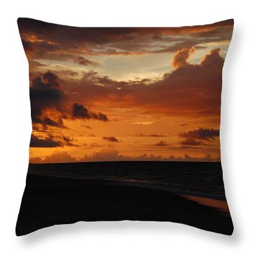 Throw Pillow featuring the photograph Sunrise  by Mim White