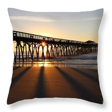 Sunrise Myrtle Beach State Park Throw Pillow