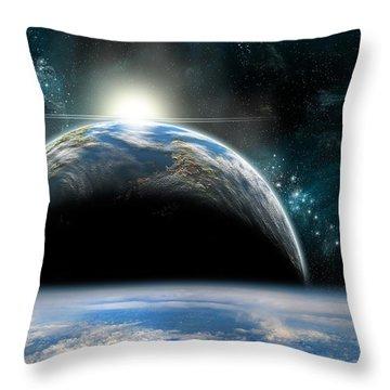 Sunrise No.4v Throw Pillow
