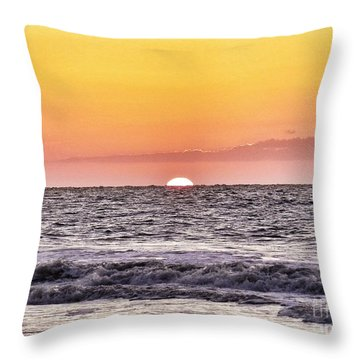 Sunrise Of The Mind Throw Pillow