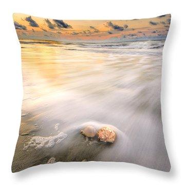 Sunrise On Hilton Head Island Throw Pillow
