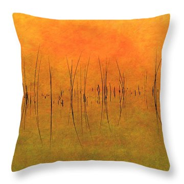 Sunrise On The Bay Throw Pillow