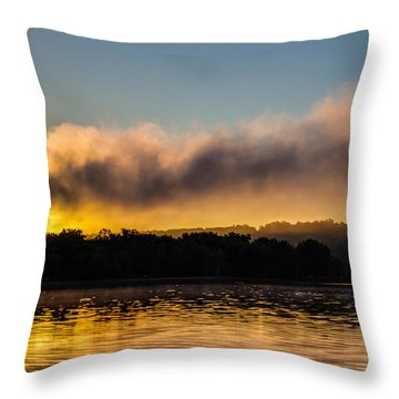 Sunrise On The St. Croix Throw Pillow