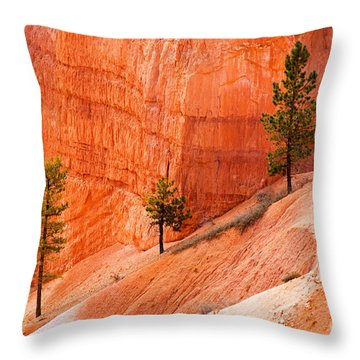 Sunrise Point Bryce Canyon National Park Throw Pillow