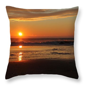 Sunrise Serenity Throw Pillow by Robert Banach
