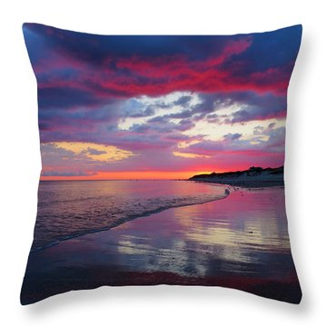 Sunrise Sizzle Throw Pillow by Dianne Cowen