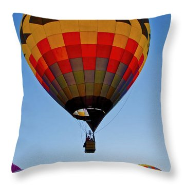 Sunrise Spectacular Throw Pillow by Gary Holmes