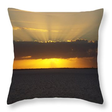 Sunrise Splender Throw Pillow