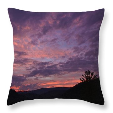 Sunset 2013 Throw Pillow