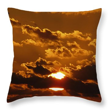 Sunset 5 Throw Pillow