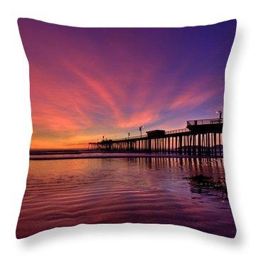 Sunset Afterglow Throw Pillow
