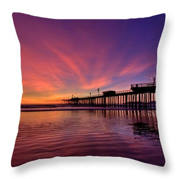 Sunset Afterglow Throw Pillow
