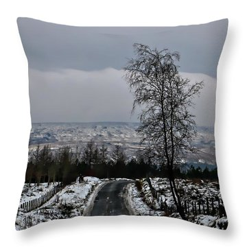 Out Wild Throw Pillow
