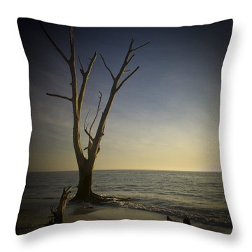 Sunset At Lovers Key Throw Pillow